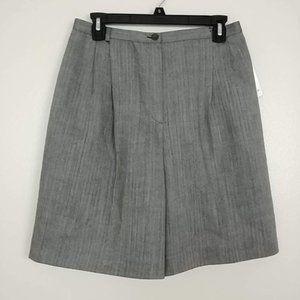 NWT Herve Bernard Pleated Wool Dress Shorts #3438
